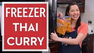 How to Make Space-Saving Freezer Thai Curry - Hot Thai Kitchen