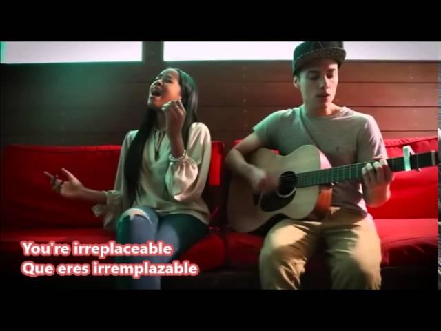 Leroy Sanchez ft. Maranda Thomas- Irreplaceable lyrics traducida ...