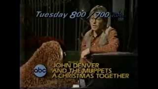 John Denver And The Muppets 1980 ABC Christmas Promo