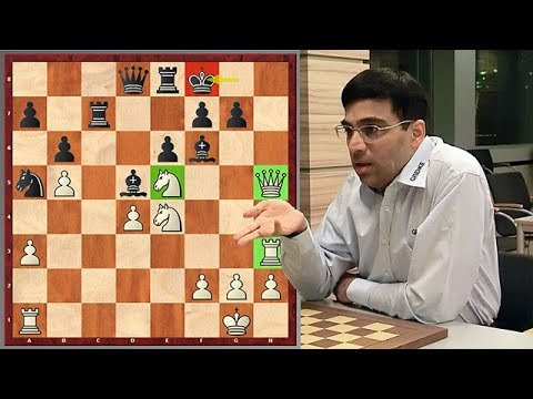 Anand's Blunder Gave Birth To A Sparkling Combination