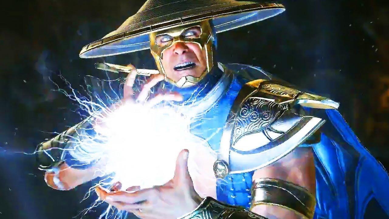 Injustice 2 - RAIDEN Gameplay & Super Coup