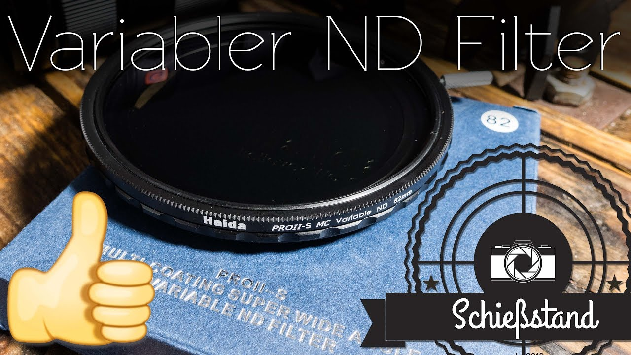 Haida Slim PRO II MC Digital ND Graufilterset ND8x ND64x ND1000x Größe 62 mm
