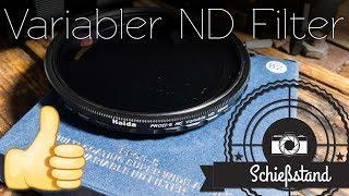 Die Wahrheit über variable ND-Filter Teil 2 – Haida PRO-S II MC Variable ND im Test