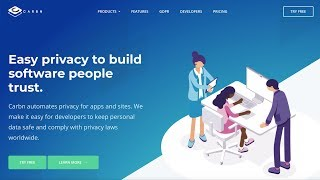 Carbn helps keep human centric data private