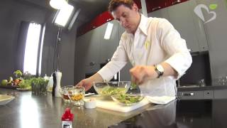 Салат с Кус-Кусом от шеф-повара Павла Петрова
