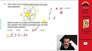 Kombinasyon 2 (Miray Yayınları AYT Soru Bankası Çözümleri)