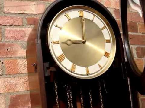 Vh Westminster Chime Longcase Grandfather Clock Doovi