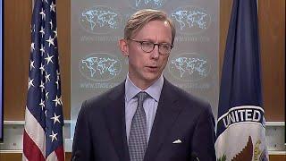 Ambassador Brian Hook Briefs the Press - April 2, 2019