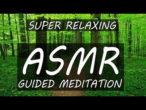 ASMR Guided Mediation Visualization Forest Journey | Stress Relief and Help Sleeping