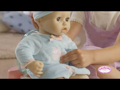 Baby Annabell Interactive Doll 43 cm - YouTube