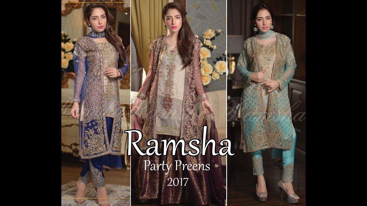 0050c6cc09 Ramsha Party Preens Collection 2017 | Memsaab UK - YouTube