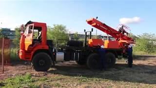 АЗА 3М - модифицированная буровая установка для Севера