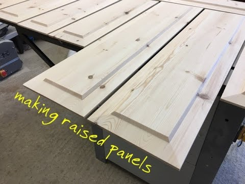 Making Raised Panels On The Table Saw Youtube