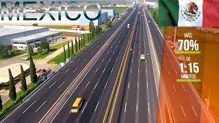 Construcción y Modernización de la Grandiosa Red de Infraestructura Vial de México
