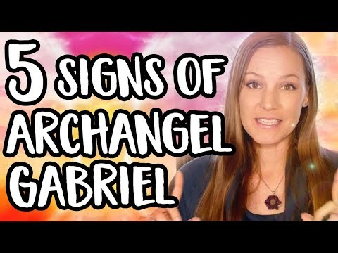 Archangel Gabriel Signs - 5 Signs Archangel Gabriel Is With You & Reaching Out!