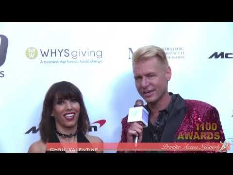Jessica Ross w/Chris Valentine i100 Awards thumbnail