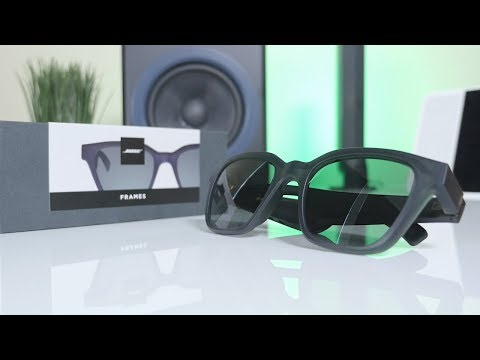 Bose Frames Audio Sunglasses - Unboxing + First Impressions!