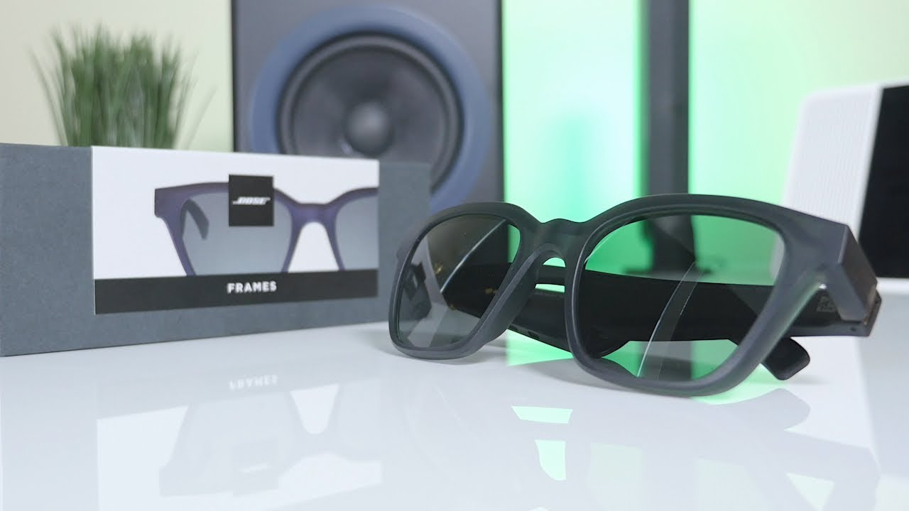 1bec8b7354 Bose Frames Audio Sunglasses - Unboxing + First Impressions! - YouTube