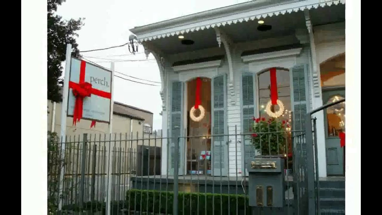 Lighted Window Christmas Decorations - YouTube