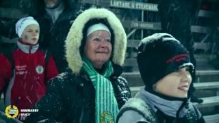 Концерт в Швеции на игре Hammarby Bandy