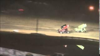 Ohio Sprint Speedweek Feature from Atomic Speedway 6/25/14.