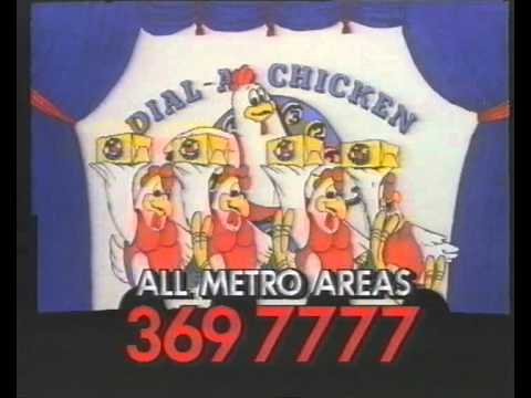 Dial-A Chicken (1987 Australian TV Advert)