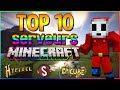 TOP 10 Serveurs Minecraft PVP/Mini-Jeux !! [FR]