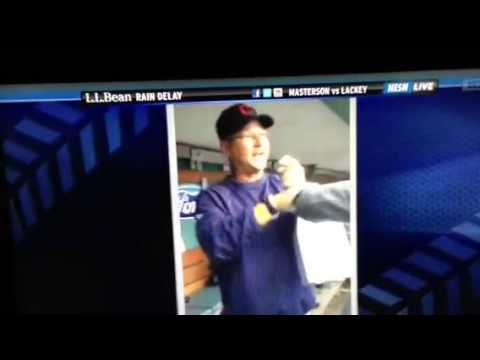 Terry Francona beats up Red Sox broadcaster Don Orsillo