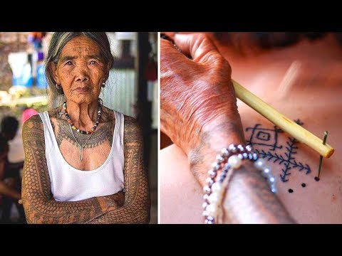 100-year-old Apo Whang Od is the last traditional Kalinga tattooist in the world