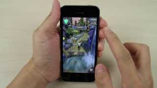Apple iPhone 5S Temple Run 2 Game Play Video