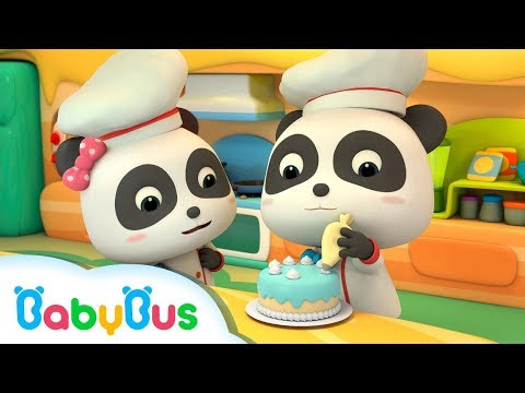 Thumbnail: Fun Baby Panda Play & Learn Cake Cooking Colors Kids Game | Fun Kitchen Games For Children | BabyBus