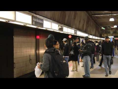 MTA New York City Subway Jamaica & Manhattan Bound R160A (E) Trains @ Sutphin Blvd-Archer Av/JFK