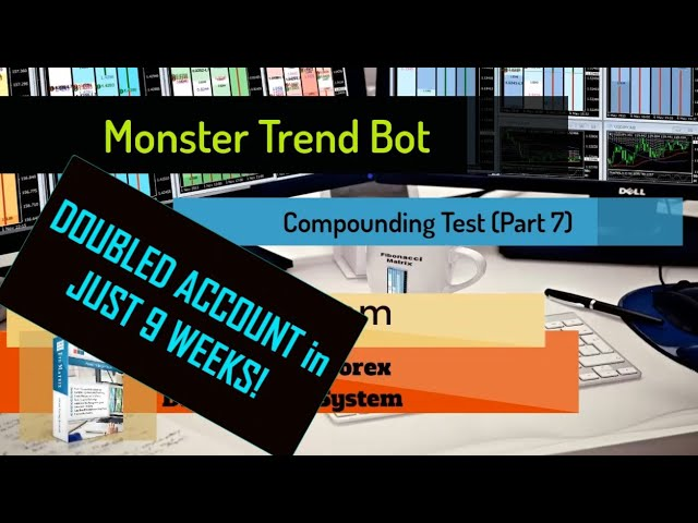 UP 101%! – Monster Trend Bot (PART 7) DOUBLES Trading Account –  Automated Forex Trading Software