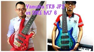 Yamaha TRB JP 2 vs SIRE M7 6