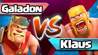 Klaus vs. Galadon Town Hall 10 RACE in Clash of Clans, Episode 1 GOLD RUSH