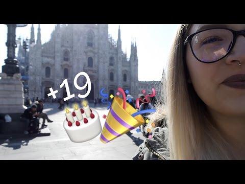 COMPLEANNO A MILANO CON SUPER SORPRESA!!🎂 | Vlog 22.04.17