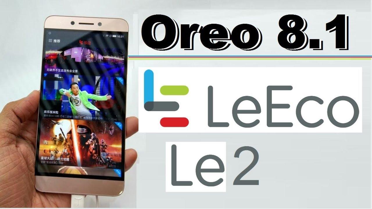 Leeco Firmware Update