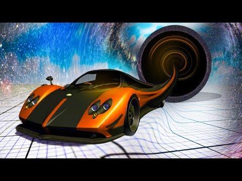 CAR vs. BLACK HOLE! (BeamNG.drive)