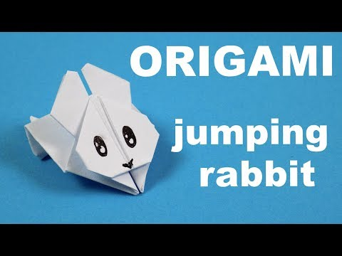 How to make a paper Rabbit - origami rabbit