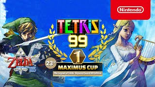 Tetris® 99 - 23rd MAXIMUS CUP Gameplay Trailer - Nintendo Switch