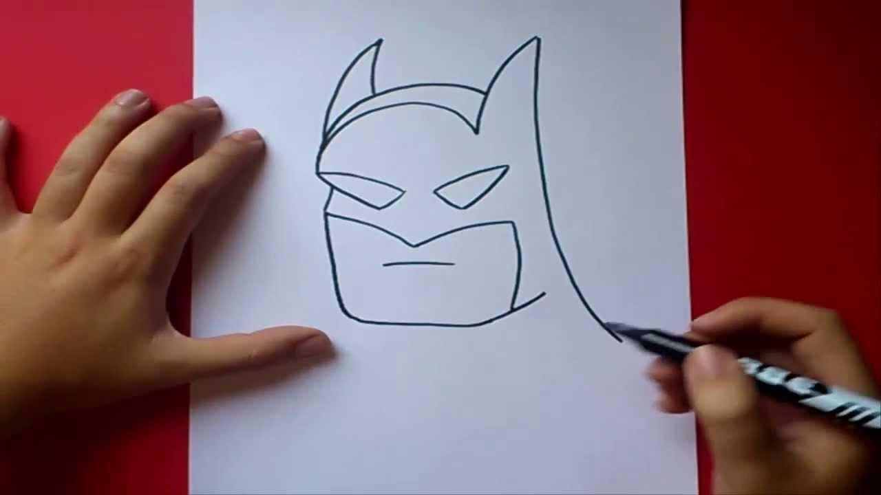Como dibujar a Batman paso a paso | How to draw Batman - YouTube