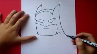 Como dibujar a Batman paso a paso | How to draw Batman