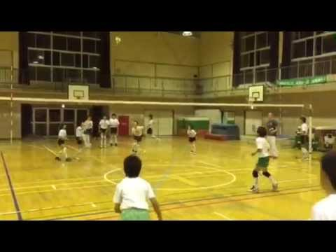 The Beavers Volleyball Club in Japan 5th and 6th graders