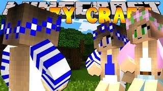 Minecraft Crazy Craft 3.0 : SPYING ON LITTLE KELLY AND LITTLE CARLY #46