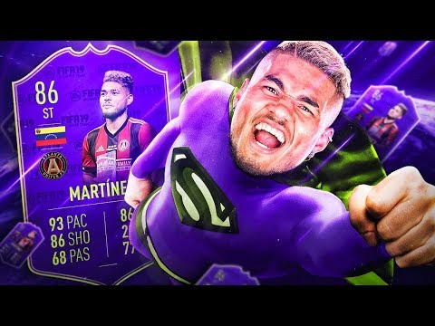 THE BEST SUPER SUB EVER?! 86 MLS MVP HERO JOSEF MARTINEZ! FIFA 19 ULTIMATE TEAM