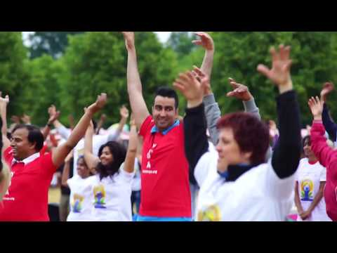 1st International Day of Yoga - Frankfurt, Germany