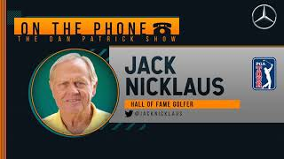 Jack Nicklaus On The Dan Patrick Show (Full Interview) 04/09/20