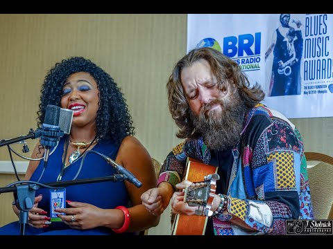 """Chains And Things"" Annika Chambers & Jeff Jensen 2018 Blues Music Awards Memphis May 9, 2018"