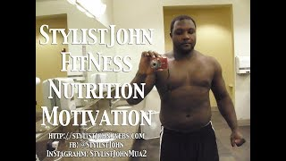 StylistJohn Day 5 Arms And Stomach of 30 Day Challenge