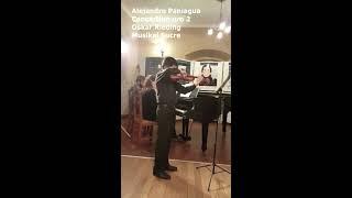 Gambar cover Alejandro Paniagua - Concierto nro 2 - Oskar Rieding